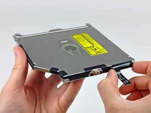 """MacBook Pro 13"""" Unibody Mid 2009 Optical Drive Replacement"""