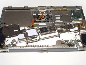 PowerBook G4 Titanium Onyx Upper Case Replacement