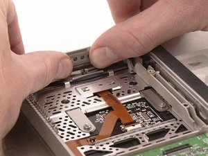 PowerBook G4 Titanium DVI Latch Replacement