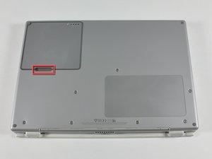 PowerBook G4 Titanium DVI Battery Replacement