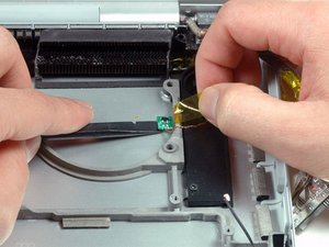 """MacBook Pro 15"""" Core Duo Model A1150 Right Thermal Sensor Replacement"""