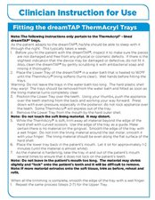 dreamTAP-_Clinician-THERMACRYL.pdf